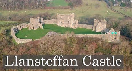 The Best Castle Location? – Llansteffan Castle
