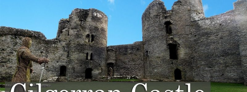 What's in the Twin Towers of Cilgerran Castle?