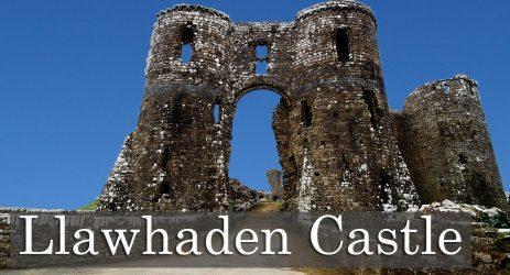 Llawhaden Castle.  A Castle Built By A Bishop Called Bernard.