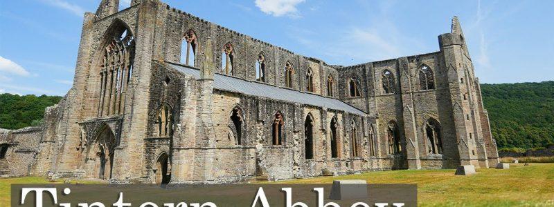 British Gothic Ruin: Tintern Abbey.