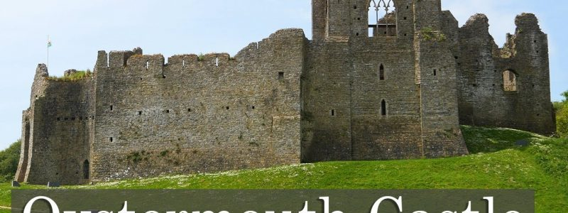 The Sprawling Oystermouth Castle