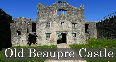 Better Death Than Dishonour At Old Beaupre Castle!