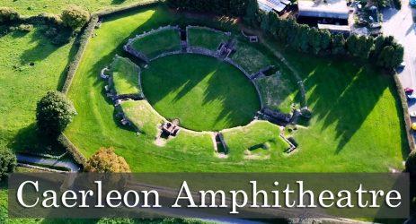 Caerleon Amphitheatre.