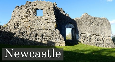 Newcastle Castle.  No, Not That One.