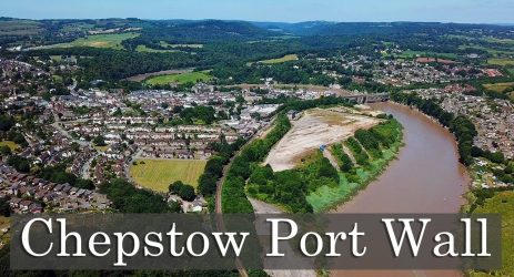 Some walls last longer than others – Chepstow Port Wall