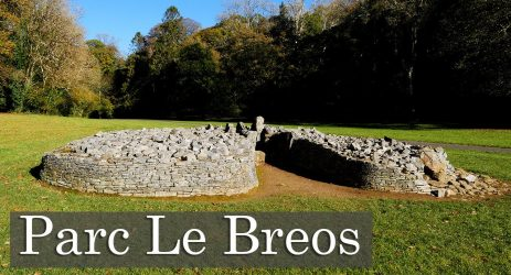 When 6000 years old you reach, look as good you will not-  Parc le Breos Burial Chamber