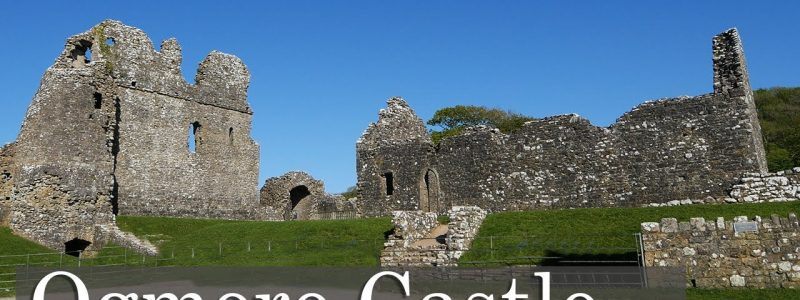 The Beautiful, but Windy, Ogmore Castle